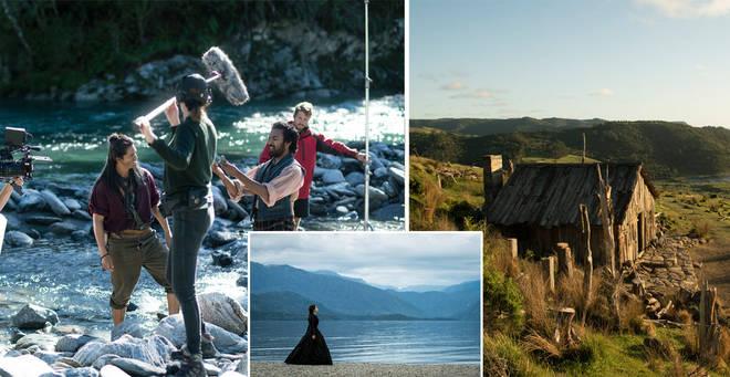 The Luminaries was filmed across New Zealand