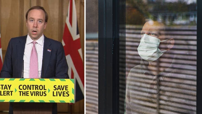 Matt Hancock announced new rules for shielding patients