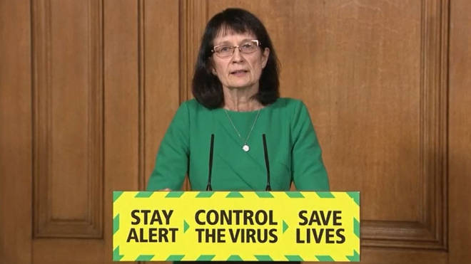 Deputy Chief Medical Officer Dr Jenny Harries announced the new shielding rules