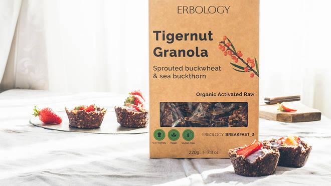 Erbology's Tigernut Granola