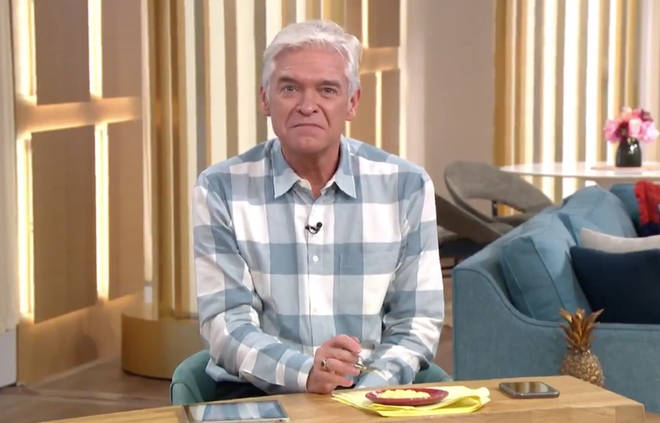 Phillip Schofield told the mum 'how dare you!' as he watched the tutorial