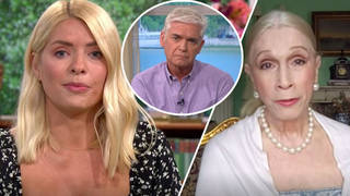 The controversial author and socialite was interviewed on This Morning