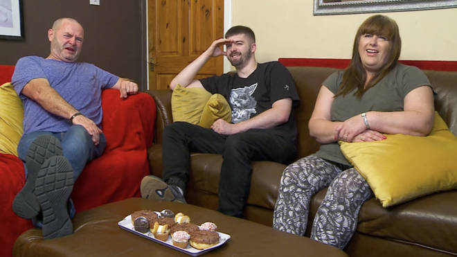 Tom Malone Jr appears on Gogglebox with his family