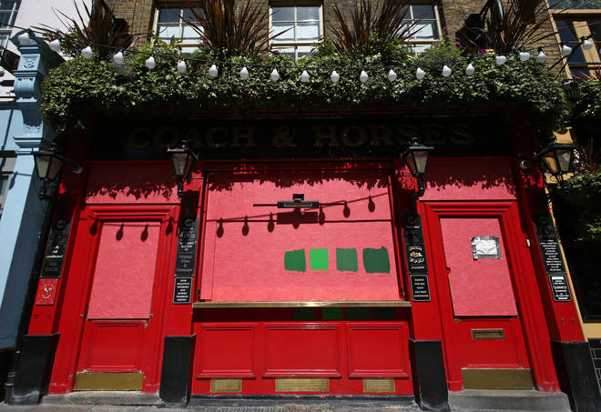Pubs across the UK have been closed since mid-March