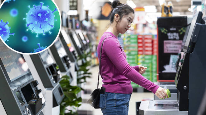 How to stay safe when using touchscreen self-checkouts in the supermarket