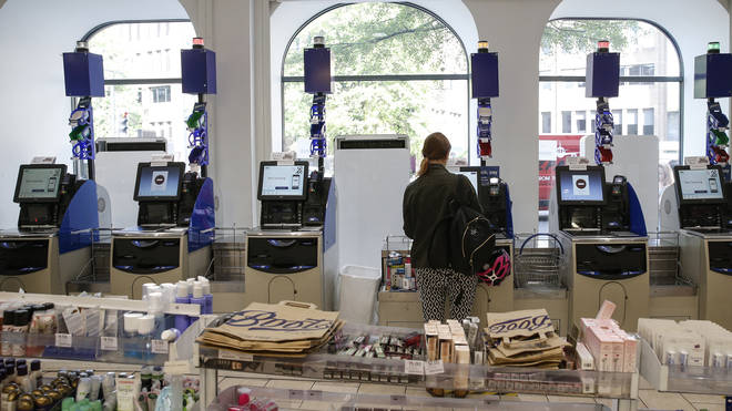 Self-checkout touchscreens can hold bacteria and viruses for days if not cleaned