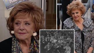 Barbara Knox has played Rita in Coronation Street for decades