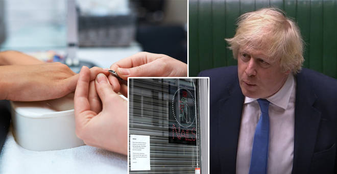 When will nail salons open in England?