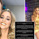 Alex Murphy has released a statement after she was axed from Dancing On Ice