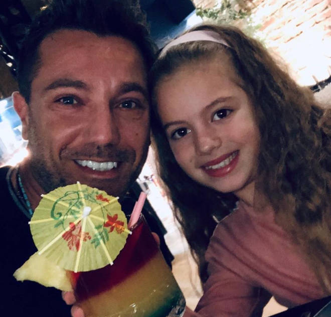 Gino D'Acampo's youngest is seven-year-old Mia