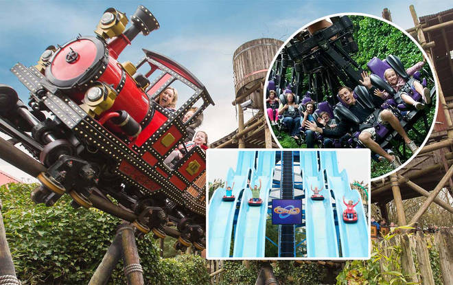 Most theme parks are reopening very soon