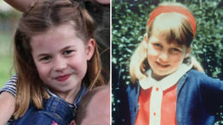 Princess Charlotte is looking more and more like Princess Diana every day