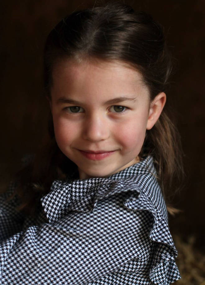 Princess Charlotte has previously been compared to her father, Prince William