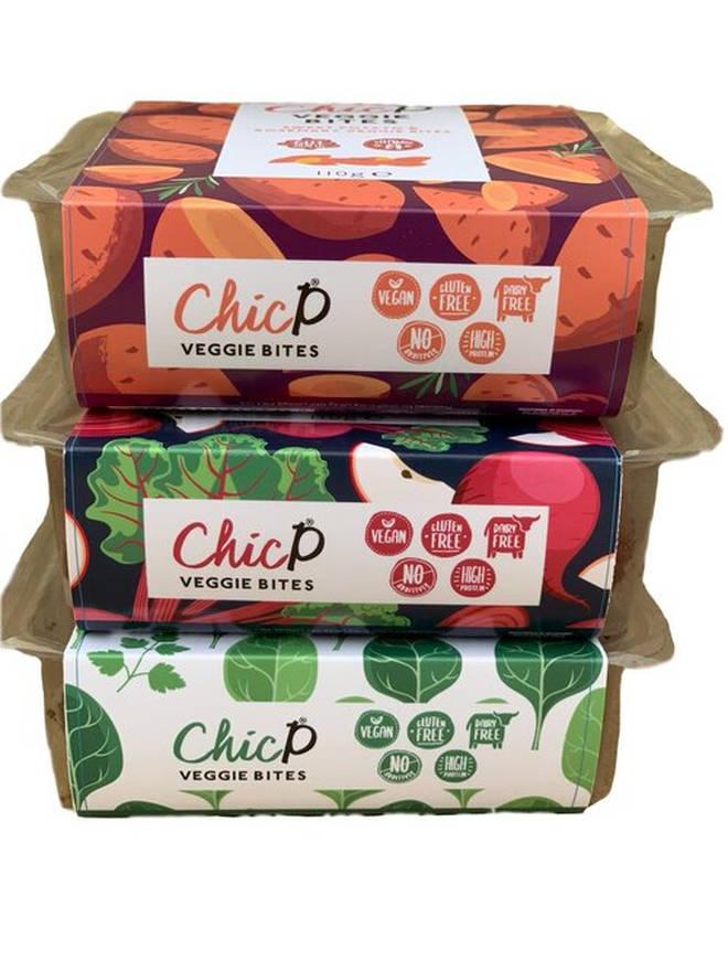 ChicP's veggie bites
