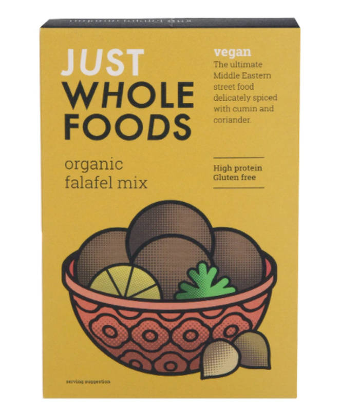 Just Wholefoods Organic Vegan Falafel Mix