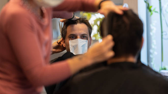 Hairdressers and barbers are reopening in July