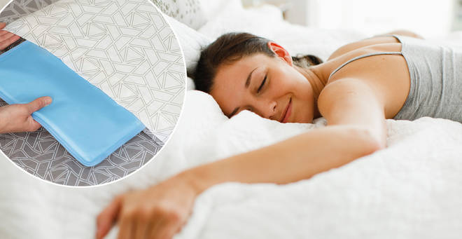 This self-cooling pillow could help you sleep
