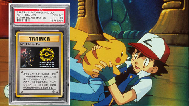 The rare Pokémon Card is expected to sell for £88,000