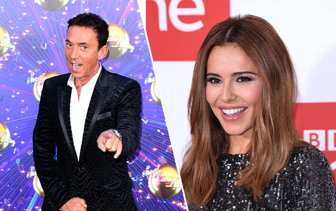 Cheryl's no stranger to judging dance competitions