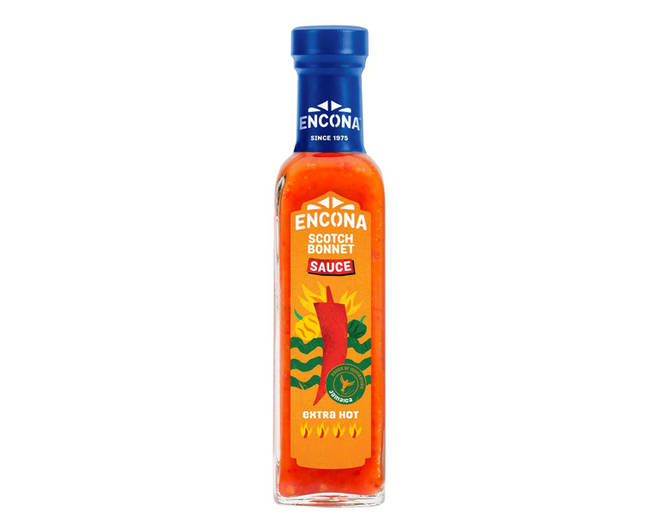 Encona Scotch Bonnet Sauce Hot Pepper Sauce