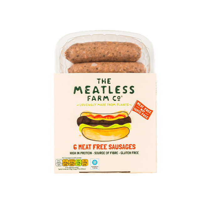 The Meatless Farm and Co sausages