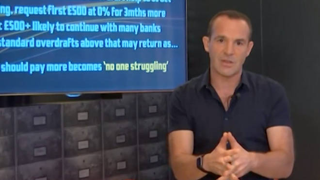Martin Lewis has issued a warning to those in their overdraft