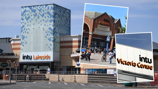 Intu shopping centres could be going into administration