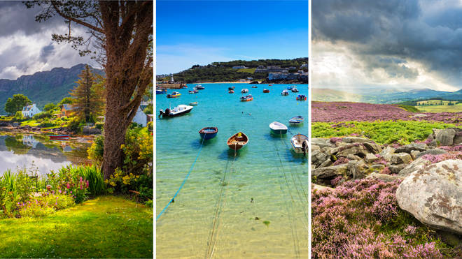 Beautiful holiday destinations in the UK