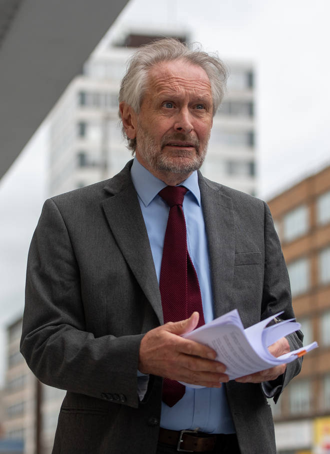 Sir Peter Soulsby has revealed he received an email from the Government in the early hours of the morning with recommendations that the city should stay under the current lockdown