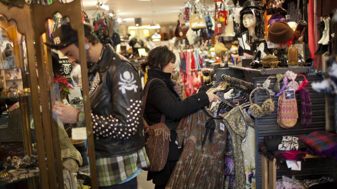 Charity shops were given the green light to reopen when non-essential stores reopened