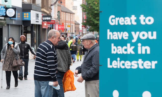 The people of Leicester will have to go back to an earlier stage of lockdown