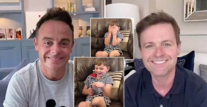Ant and Dec surprised a five-year-old boy via video chat