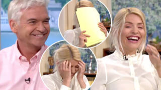 Holly and Phil were in hysterics during today's episode