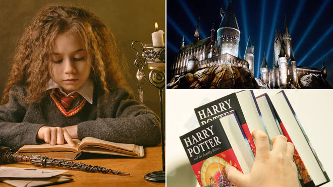 The little girl has been raised to believe she is a witch and that the Wizarding World is real