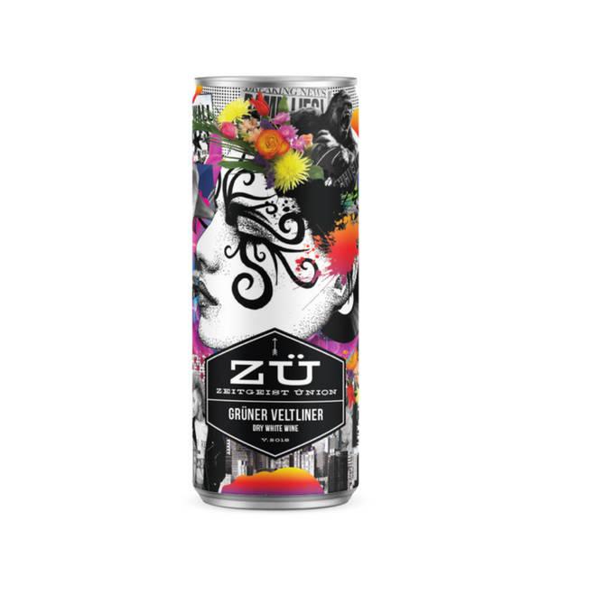 ZÜ canned drink
