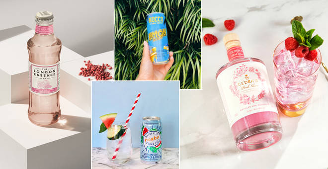 A round up of non alcoholic summer drinks