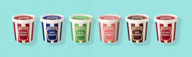 The ice cream kits come in a few different flavours