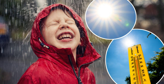 The July weather looks set to get off to a confusing start (stock images)