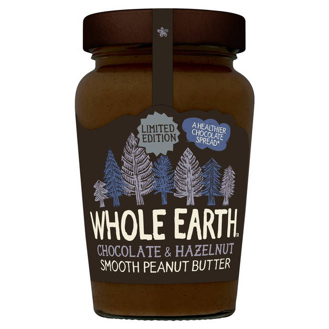 Whole Earth Chocolate & Hazelnut Peanut Butter