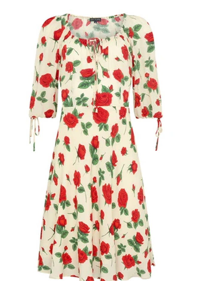 Holly Willoughby's dress is £110 from Coco Fennell