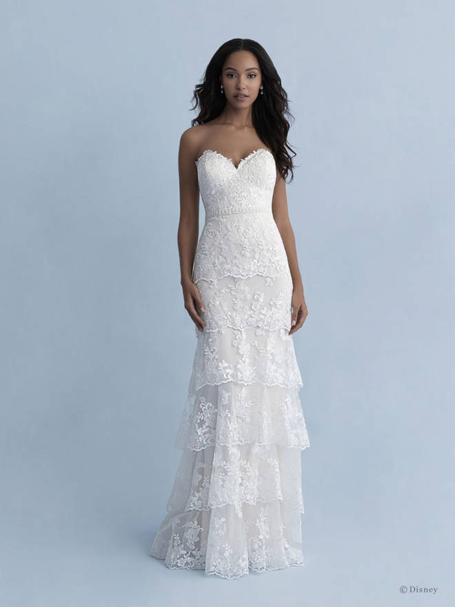 Tiana inspired wedding dress