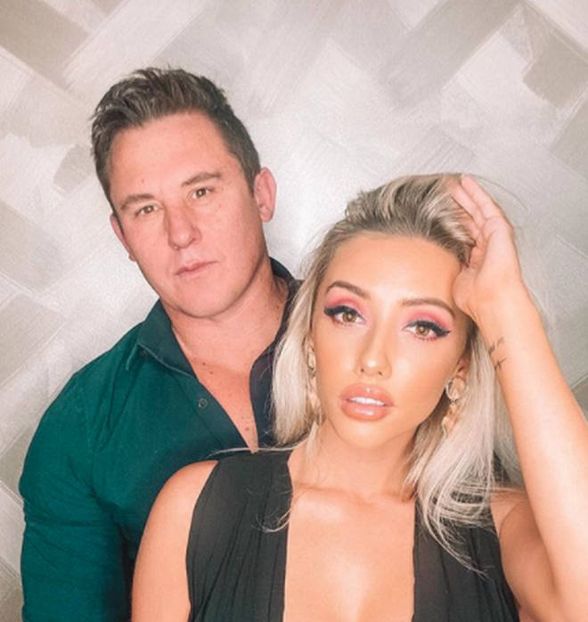 Erin Barnett and her boyfriend Mick Russell