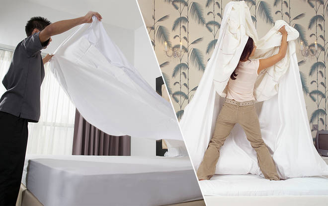 There's a new sheet-changing method in town
