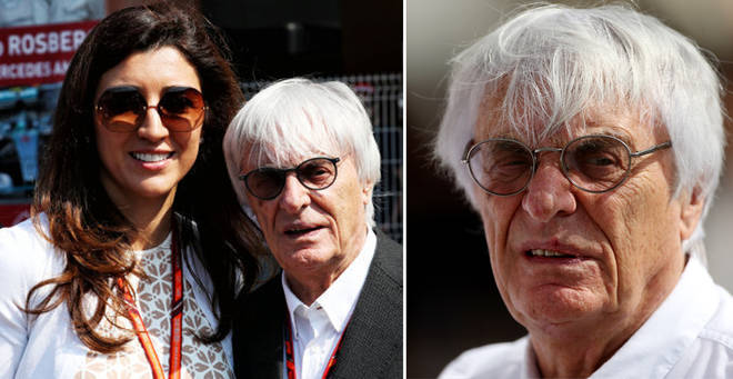 Bernie Ecclestone has welcomed his fourth child