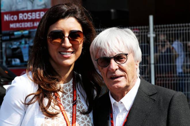 Bernie Ecclestone is married to Fabiana Flosi