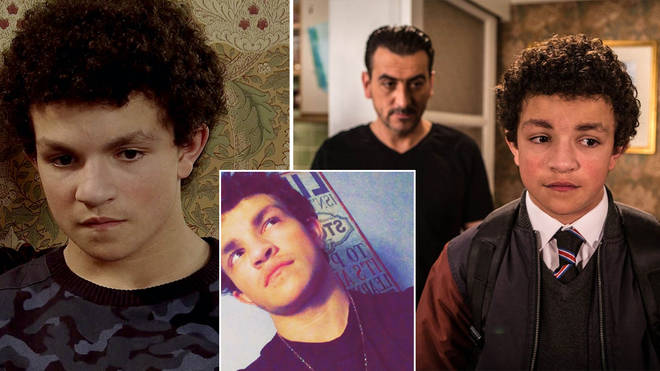 Alex Bain plays Simon Barlow on Coronation Street