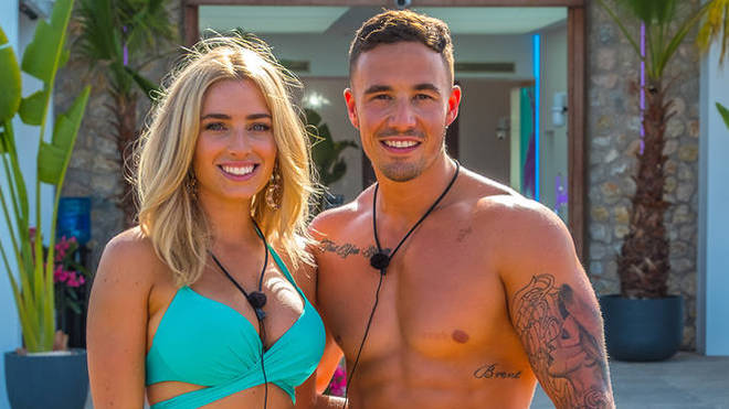 Cassidy was originally paired up with Grant on Love Island Australia