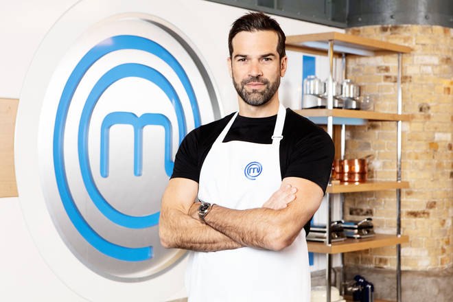Gethin Jones on Celebrity Masterchef