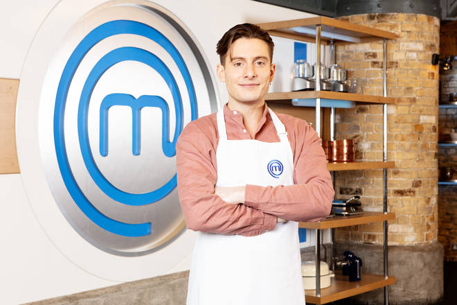 Riyadh Khalaf on Celebrity Masterchef