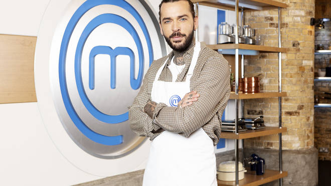 Pete Wicks on Celebrity Masterchef